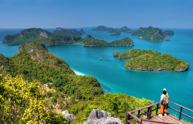Angthong Islands Near Koh Samui